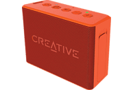CREATIVE MUVO 2C Bluetooth Lautsprecher, Orange, Wasserfest