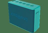 CREATIVE MUVO 2C turquoise Bluetooth Lautsprecher, Türkis, Wasserfest