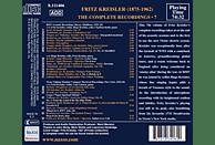 Fritz Kreisler - Complete Recordings 7 [CD]