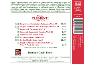 Dominic Cheli - Monferrinas  - (CD)