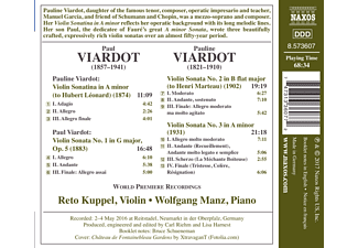Wolfgang Manz, Reto Kuppel - Violinsonaten  - (CD)