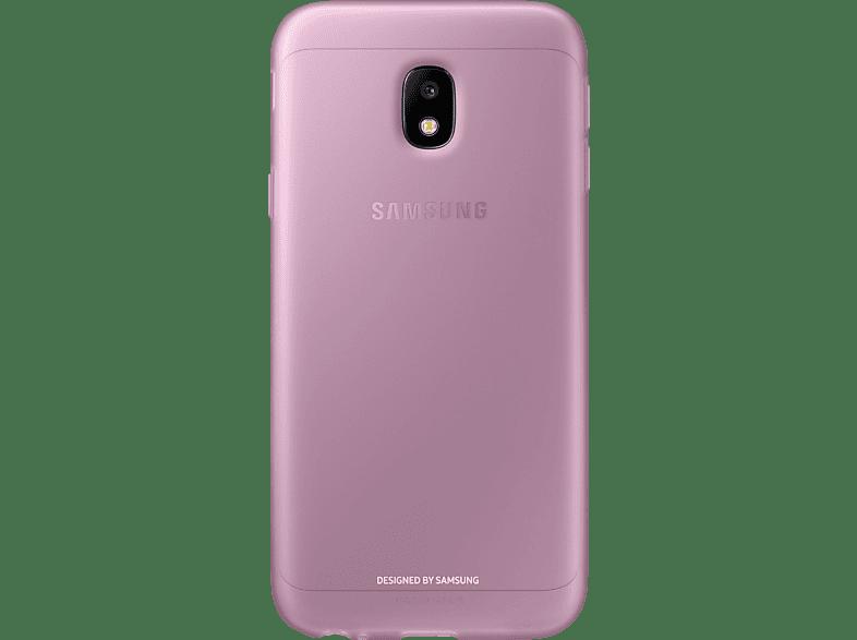 SAMSUNG Jelly Cover EF-AJ330 , Backcover, Samsung, Galaxy J3 (2017), Pink
