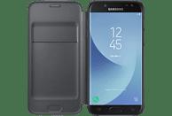 SAMSUNG Wallet Cover EF-WJ530 , Bookcover, Samsung, Galaxy J5 (2017), Schwarz