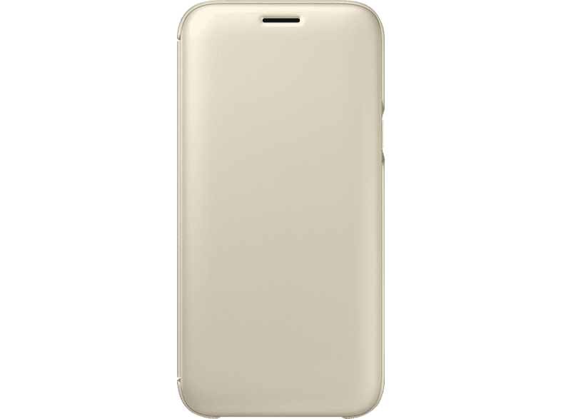 SAMSUNG Wallet Cover EF-WJ530 , Bookcover, Samsung, Galaxy J5 (2017), Gold