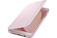 SAMSUNG Wallet Cover EF-WJ730 , Bookcover, Samsung, Galaxy J7 (2017), Pink