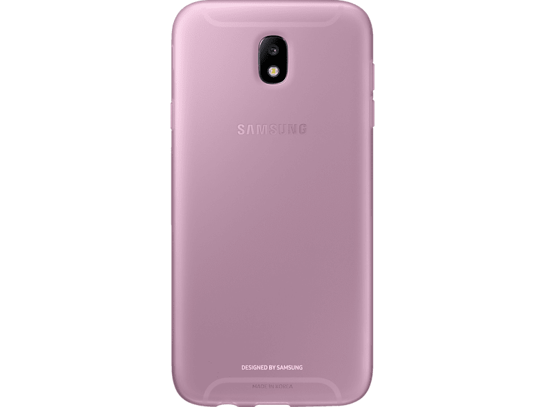 SAMSUNG Jelly Cover EF-AJ730 , Backcover, Samsung, Galaxy J7 (2017), Pink