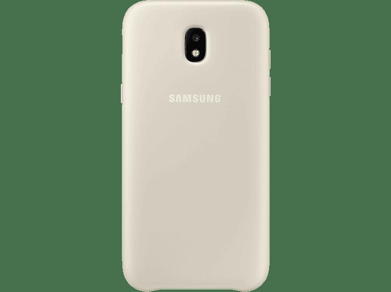 SAMSUNG Dual Layer Cover EF-PJ530 , Backcover, Samsung, Galaxy J5 (2017), Gold
