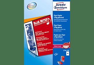 AVERY ZWECKFORM 2790-100 Laser Flyer-Papier 210 x 297 mm 210 x 297 mm A4  100 Blatt