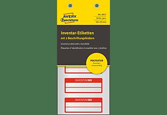 AVERY ZWECKFORM 6911 Inventar-Etiketten 50 x 20 mm 50 x 20 mm  50 Etiketten / 10 Bogen