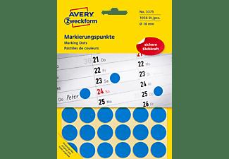 AVERY ZWECKFORM 3375 Markierungspunkte Ø 18 mm Ø 18 mm  1.056 Etiketten / 22 Bogen