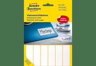 AVERY ZWECKFORM 3328 Vielzweck-Etiketten 76 x 19 mm 76 x 19 mm  324 Etiketten / 27 Bogen