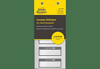 AVERY ZWECKFORM 6920 Inventar-Etiketten   50 x 20 mm 50 x 20 mm  50 Etiketten / 10 Bogen