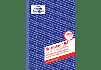 AVERY ZWECKFORM 1763 Lieferscheine  148 x 210 mm 148 x 210 mm A5  3x40 Blatt