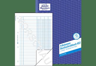 AVERY ZWECKFORM 452 Kolonnenbuch 210 x 297 mm 210 x 297 mm A4  2x50 Blatt