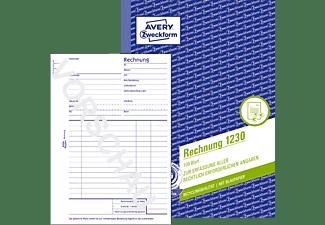 AVERY ZWECKFORM 1230 Rechnung 148 x 210 mm 148 x 210 mm A5  100 Blatt