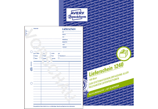 AVERY ZWECKFORM 1240 Lieferschein 148 x 210 mm 148 x 210 mm A5  100 Blatt