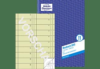 AVERY ZWECKFORM 845 Bonbuch 210 x 297 mm 210 x 297 mm A4  2x50 Blatt