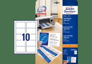 Avery Zweckform C32010 25 Visitenkarten