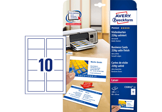 Avery Zweckform C32016 10 Visitenkarten