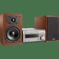 DENON D-M41DAB Kompaktanlage (CD, CD-R/RW, Premium-Silber/Kirschholz)