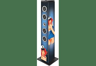 Torre de Sonido - Big Ben TW7 Pin Up, 40W, Bluetooth, Radio FM, USB