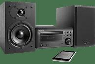 DENON D-M41 Kompaktanlage (CD, CD-R/RW, Schwarz/Schwarz)