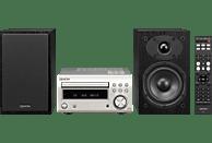 DENON D-M41 Kompaktanlage (CD, CD-R/RW, Premium-Silber/Schwarz)