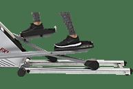 CHRISTOPEIT FXM 2 Crosstrainer, Silber/Schwarz