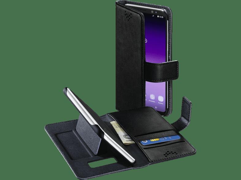 HAMA Stand-UP , Bookcover, Samsung, Galaxy S8, Kunstleder, Schwarz
