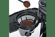 SEVERIN KA 4812 Kaffeemaschine Edelstahl/Schwarz