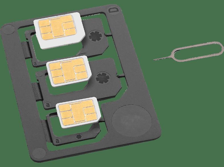 ISY ISA-1400 SIM Karten Adapter Schwarz