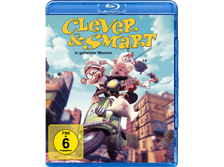 Clever & Smart: In geheimer Mission [Blu-ray]