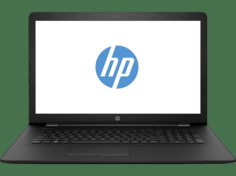 HP 17-bs036ng, Notebook mit 17.3 Zoll Display, Core™ i3 Prozessor, 8 GB RAM, 1 TB HDD, Intel® HD-Grafik 520, Schwarz