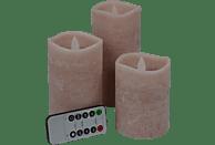 FHS 27056 Star-Max LED Kerzen, Rose, Warmweiß