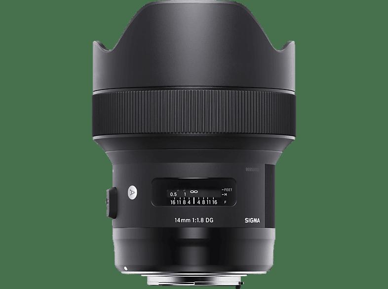 SIGMA 450954  für Canon EF-Mount, 14 mm - 14 mm, 1.8