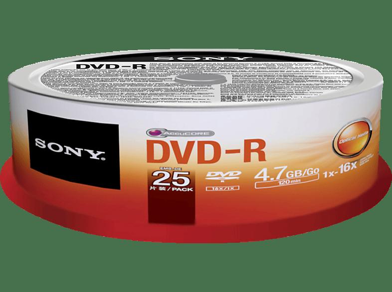 SONY 25DMR47SP DVD-R