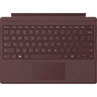 MICROSOFT Surface Pro Signature Type Cover Bordeaux Rot, Tastatur