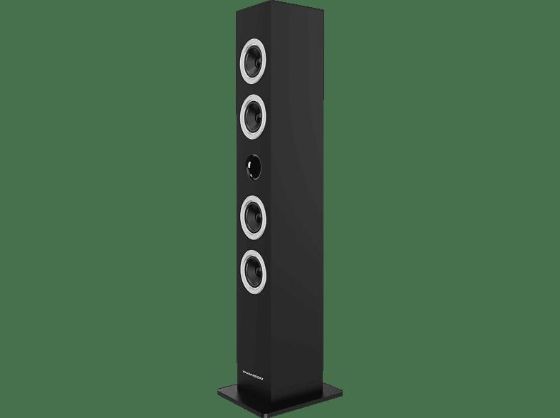 THOMSON DS120CD Multimedia Tower, Schwarz