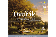 Piano Duo Trenkner Speidel - Sinfonie Nr. 9/Slawische Tänze op. 46 [SACD Hybrid]