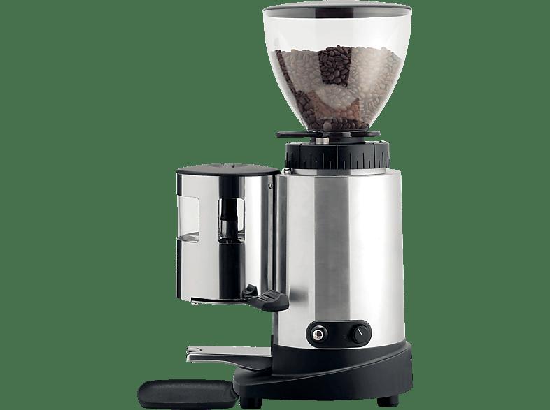 MACCHIAVALLEY 1103190A E6X Industrial Kaffeemühle Silber (300 Watt, Stahl)