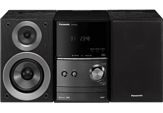 PANASONIC Mini chaîne HiFi Bluetooth DAB+ CD FM (SC-PM602EG-K)