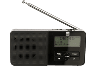DUAL Pocket Radio 5 DAB+ Radio, Digital, DAB+, FM, Schwarz