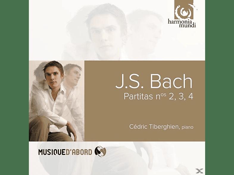 Cedric Tiberghien - Partiten 2,3,4 [CD]