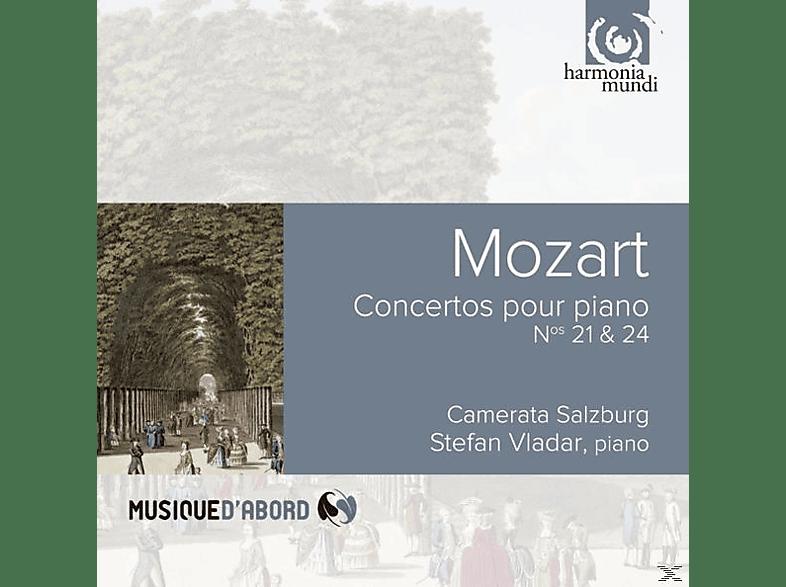 Stefan Vladar, Camerata Salzburg - KLAVIERKONZERTE 21 & 24 [CD]