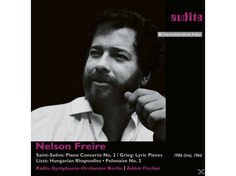 Nelson Freire, Adam Fischer, Radio Sinfonie Orchester Berlin - Saint-Saens/Grieg/Liszt-1986 (Live),1966 [CD]