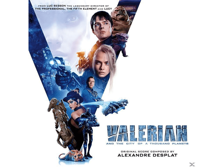 O.S.T., VARIOUS - Valerian And The City Of A Thousand Planets [CD]