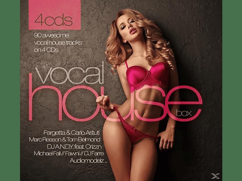 VARIOUS - Vocal House Box [CD]