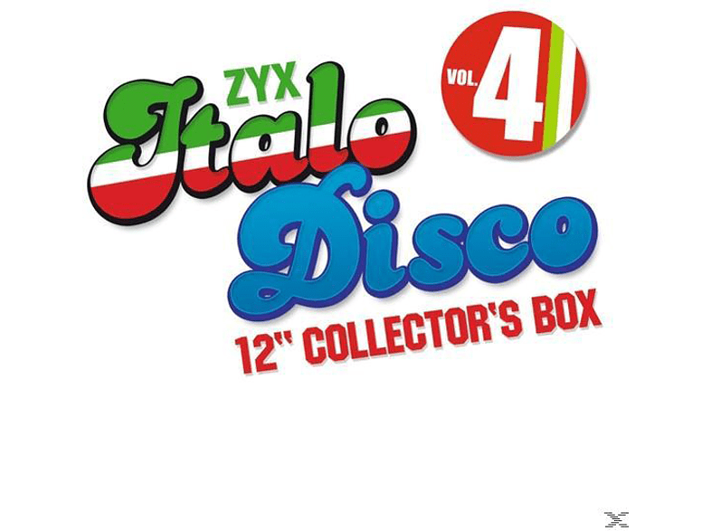 VARIOUS - Italo Disco 12 Inch Collector s Box 4 [CD]