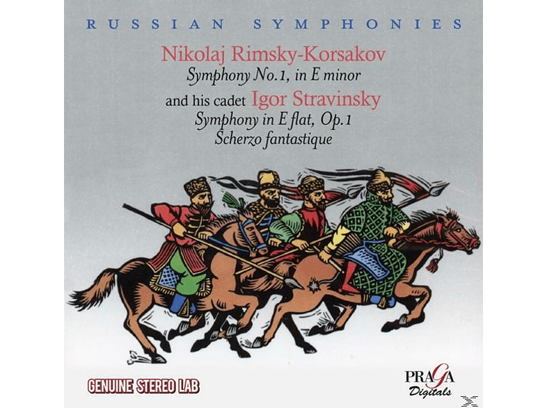 Moscow Radio Symphony Orchestra, Columbia Symphony, CBC Symphony - Russian Symphonies II [CD]
