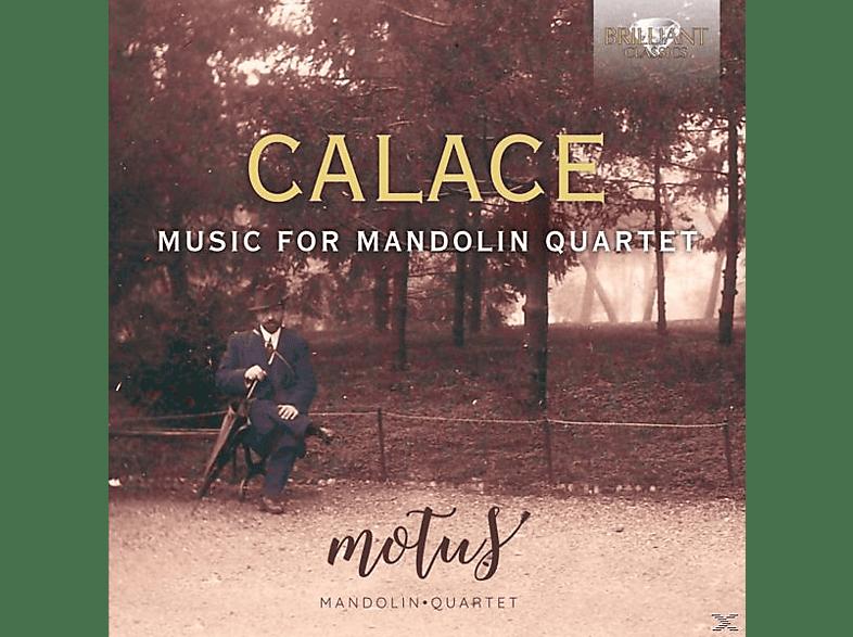 MOTUS MANDOLIN QUARTET/RAFFAELE LA RAGIONE/SALVATO - Music For Mandolin Quartet [CD]